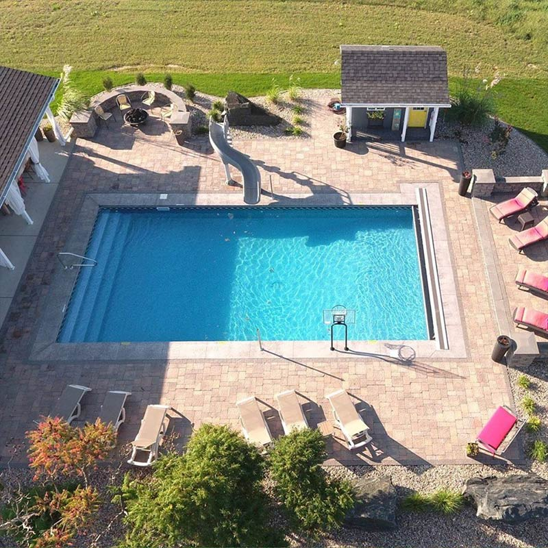 Omaha Swimming Pool And Landscaping Projects