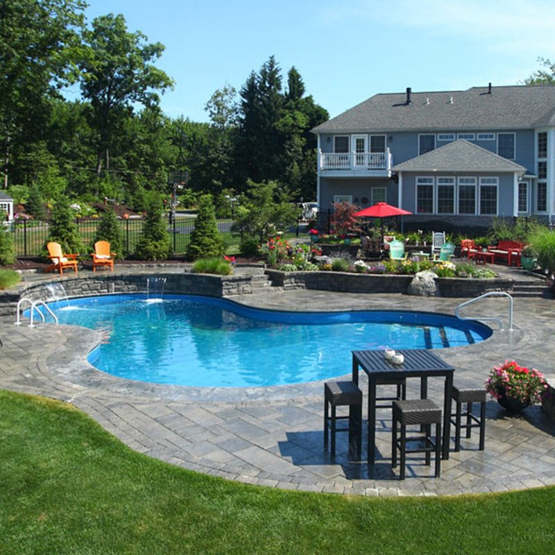 Omaha custom swimming pool builder creative structures for Pool design omaha