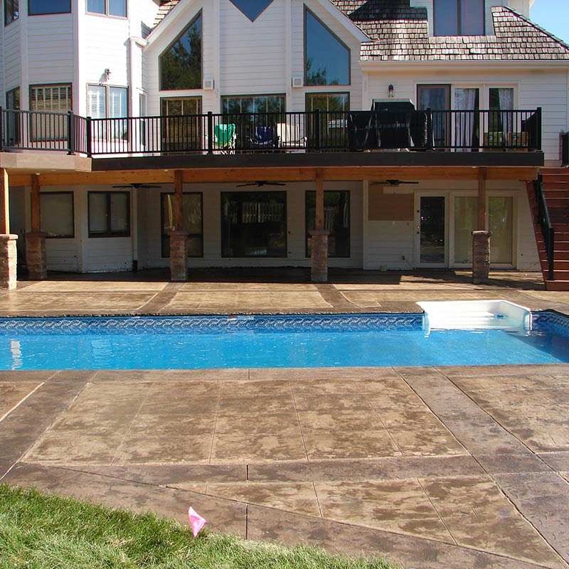 omaha swimming pool and landscaping projects creative